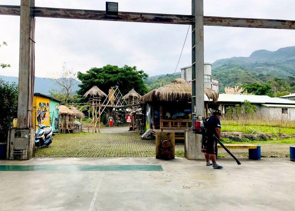 珈雅瑪 茶山 風雨球場
